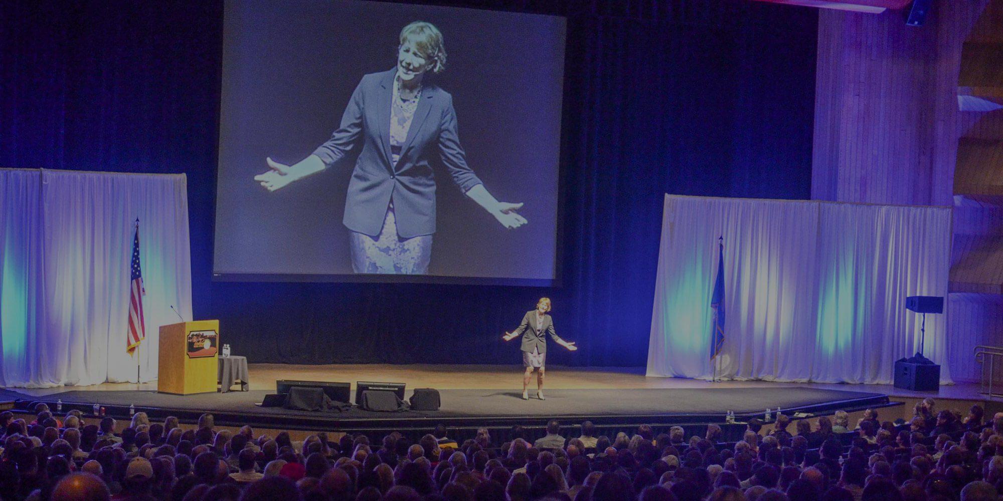 Funny Motivational Speaker Kay Frances